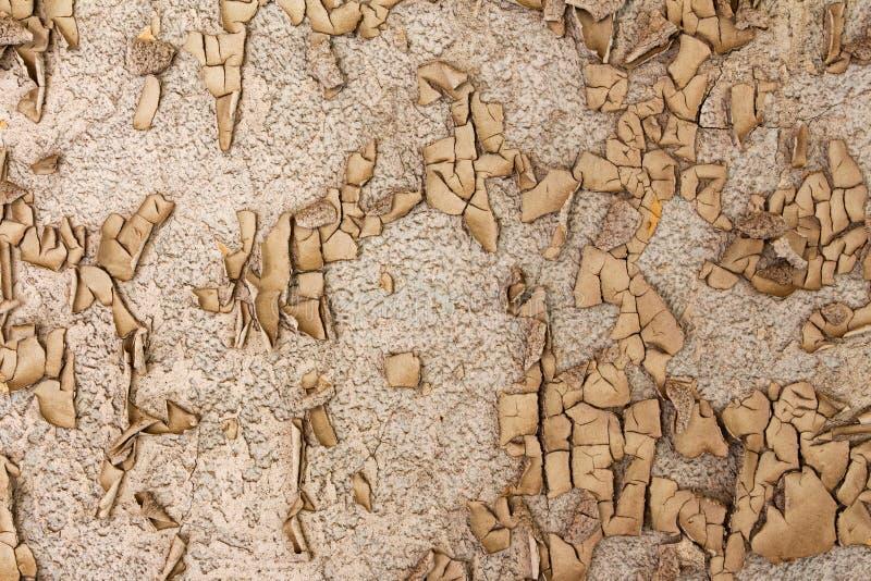 Alte gebrochene und verfallene Wand stockfotografie