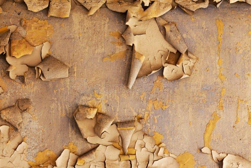 Alte gebrochene verfallene Wand des Gebäudes stockbilder