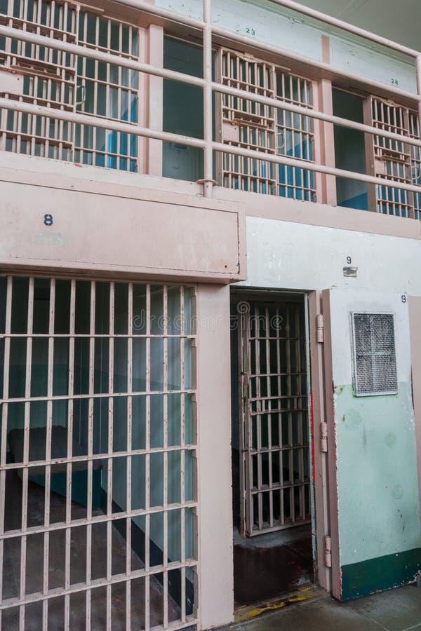 Alte Gefängniszelle lizenzfreie stockfotografie