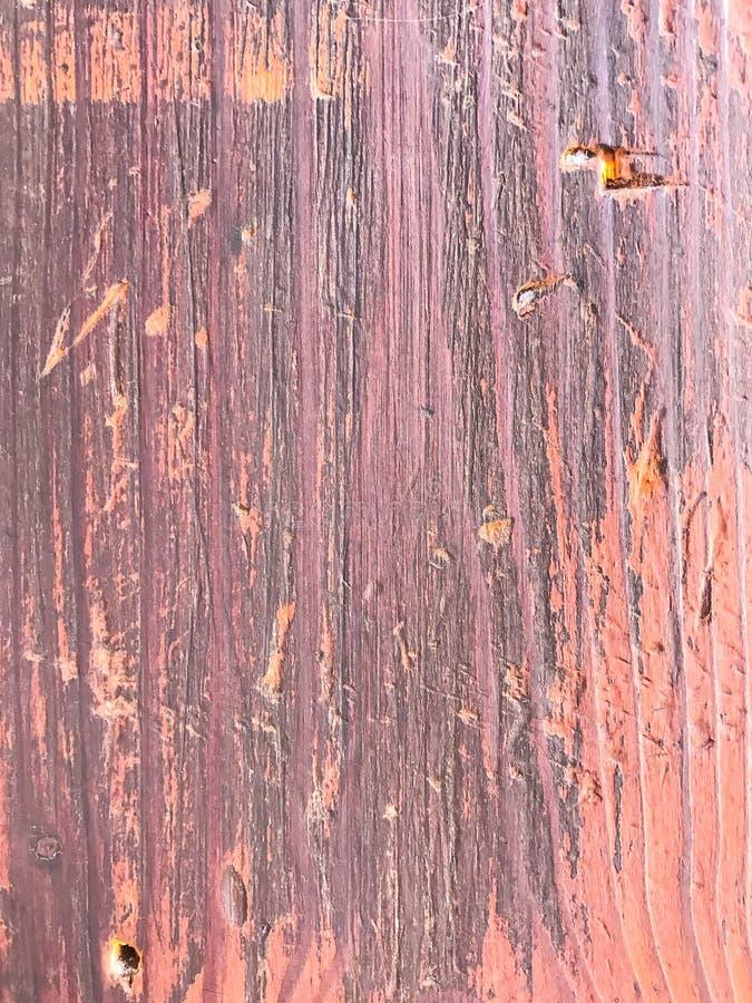 Alte gemalte gebrochene Holzoberfläche stockfotografie