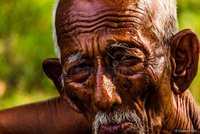 Alte Gesichter lizenzfreie stockfotos
