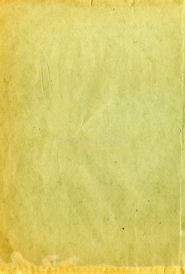 Alte getragene Papierbeschaffenheit stockfotografie