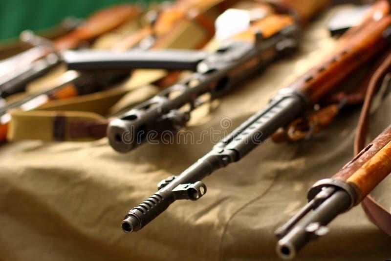 Alte Gewehren lizenzfreies stockbild