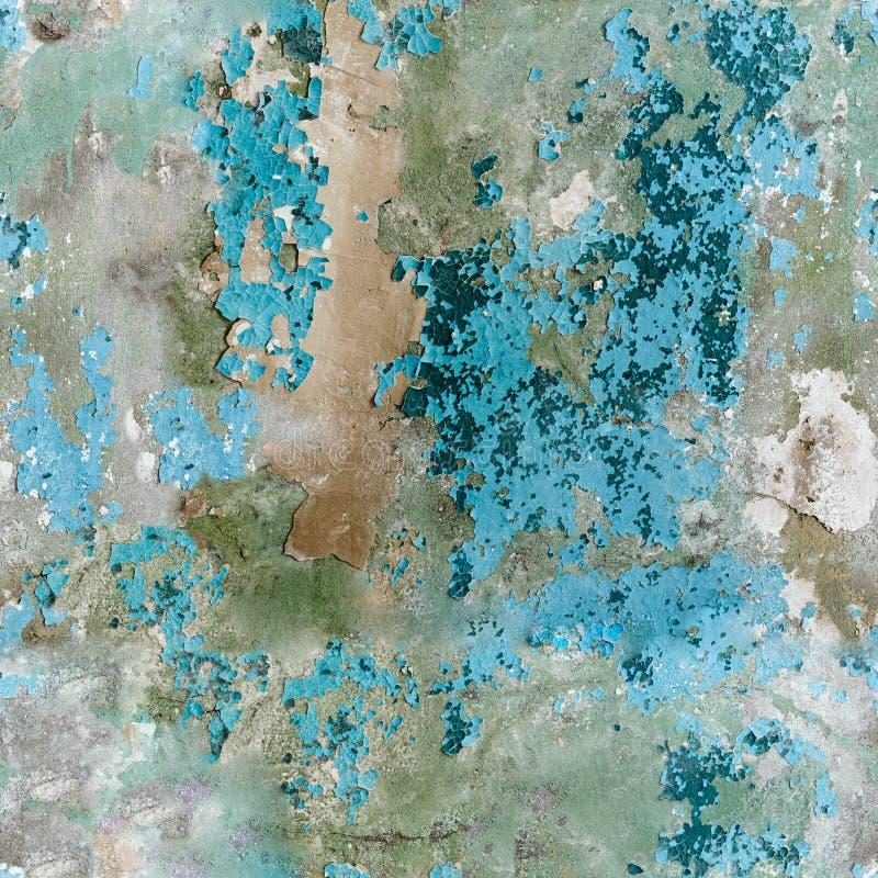 Alte grunge Betonmauer - nahtlose Beschaffenheit stockfotografie
