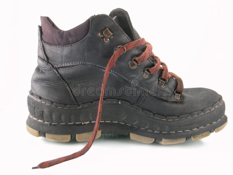 Alte gute Schuhe lizenzfreie stockbilder