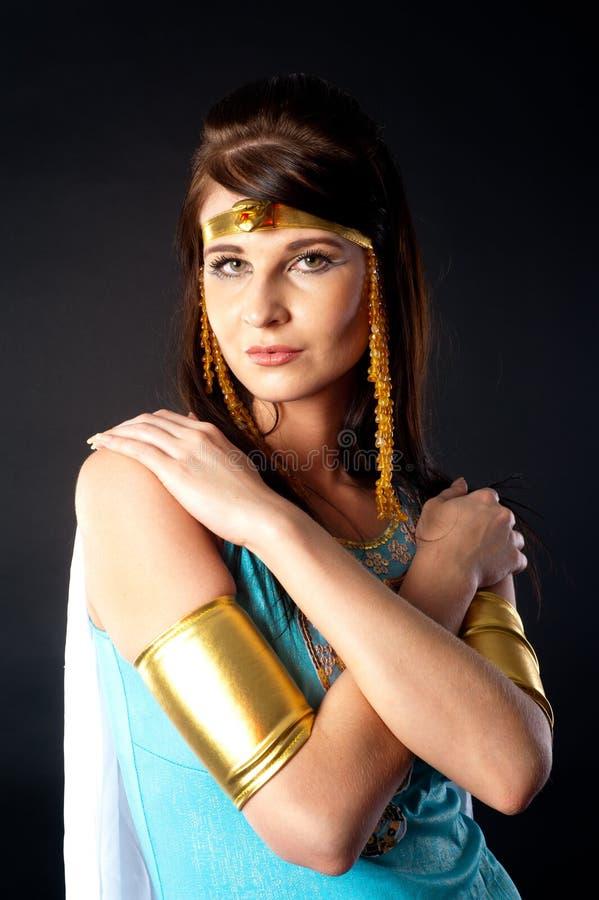 Alte ?gyptische Frau - Kleopatra lizenzfreie stockfotos