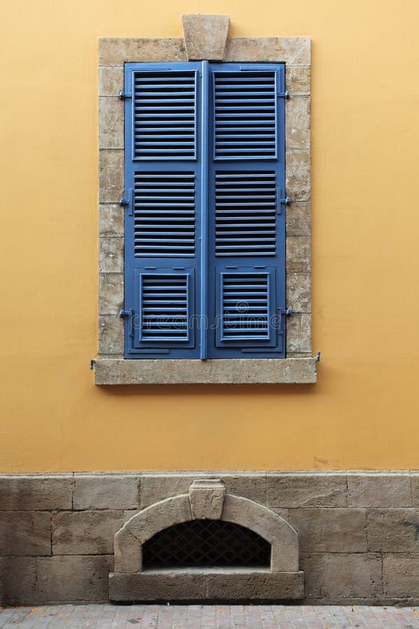 Alte Häuser von Lefkosia (Nicosia), Zypern. stockbild