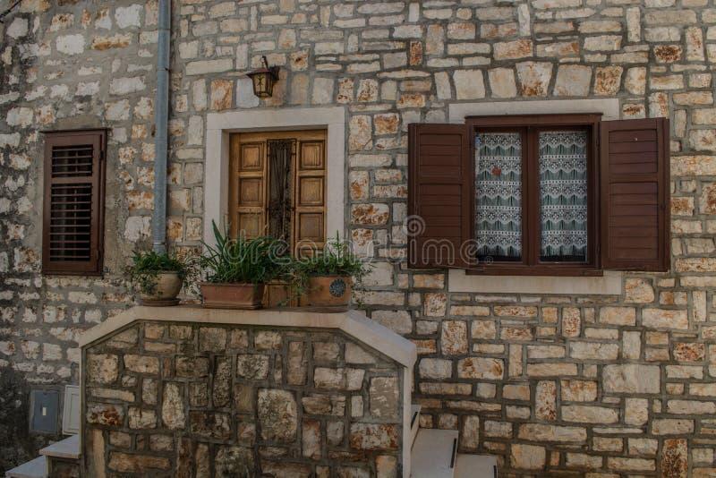 Alte Hausmauer stockfotos