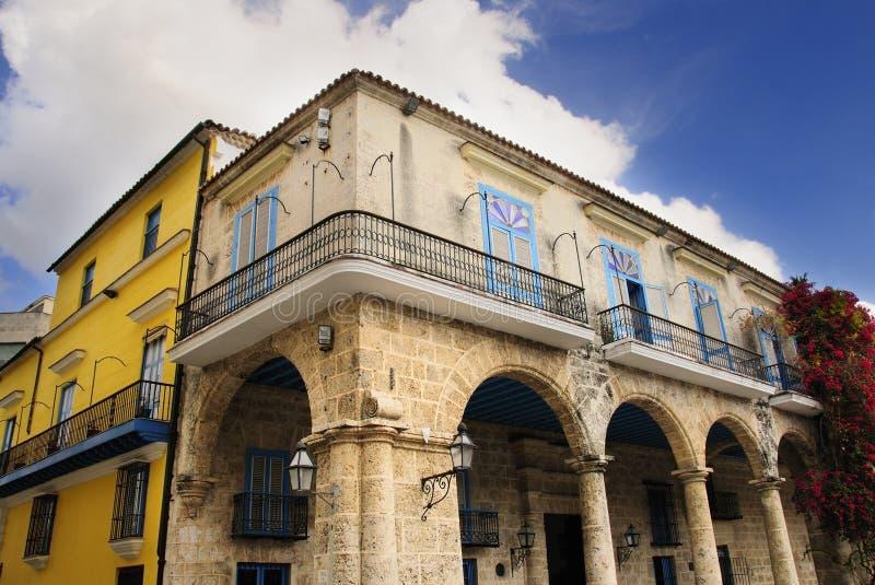 Alte Havana-Architektur stockfotografie