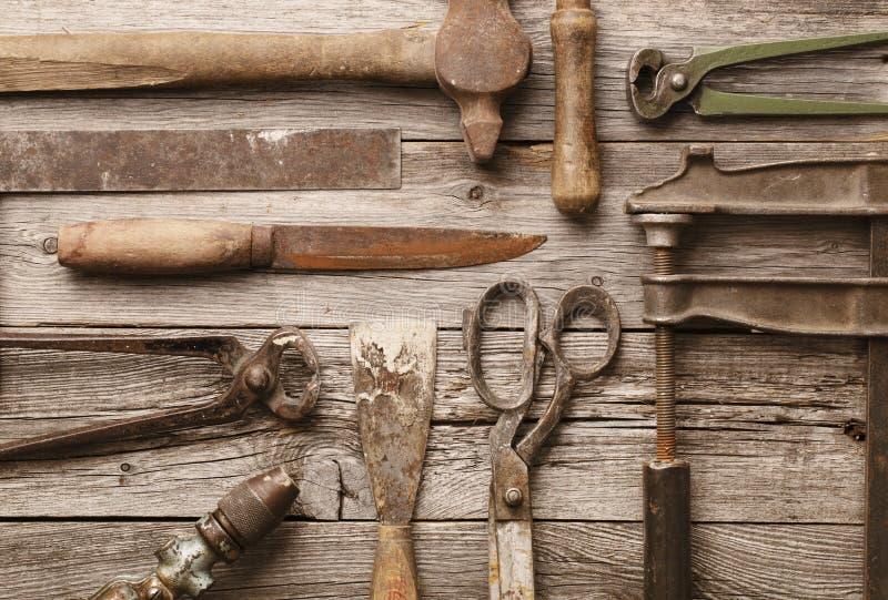 Alte Hilfsmittel stockbilder