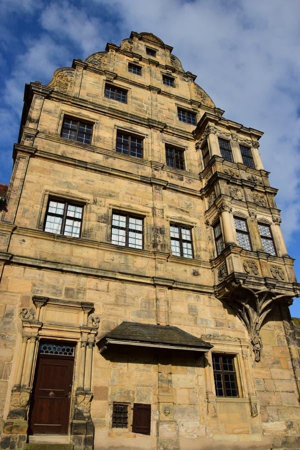 Download Alte Hofhaltung W Bamberg, Niemcy Zdjęcie Stock - Obraz złożonej z siedziba, atrakcyjny: 57659488