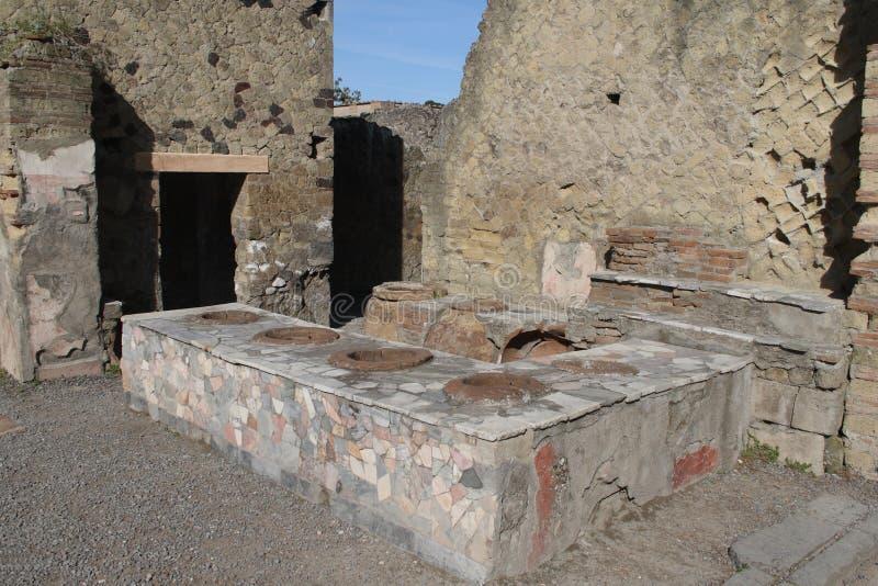 Alte Küche stockbilder