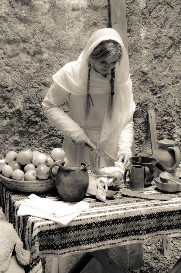 Alte Küche stockbild