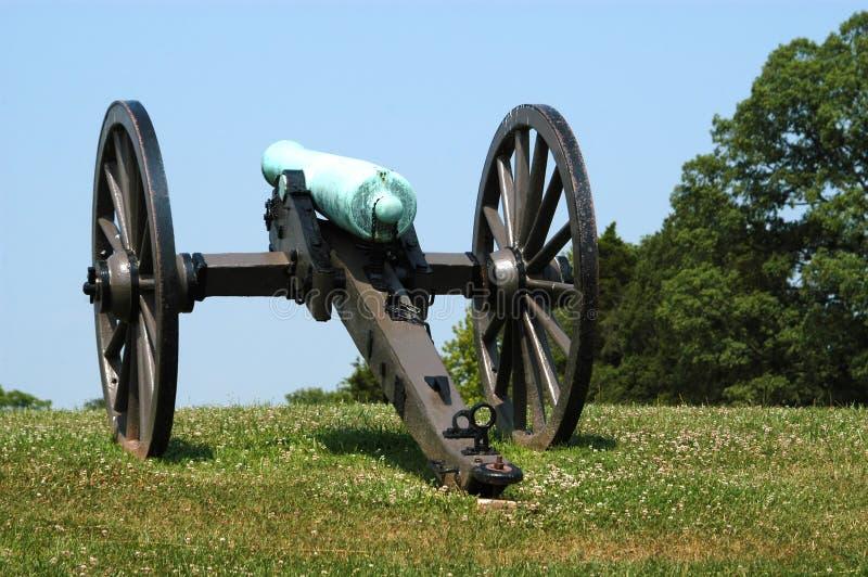 Alte Kanone II Stockfoto