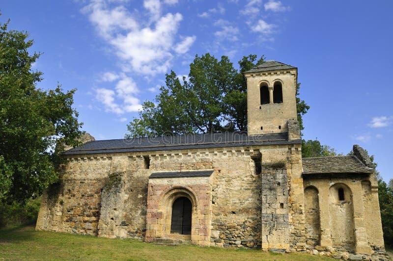 Alte Kapelle von Arnave stockfotos