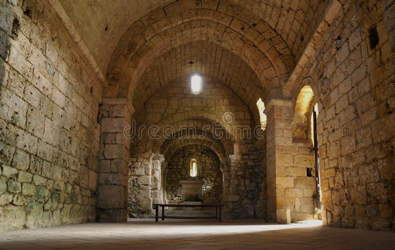 Alte Kapelle von Arnave lizenzfreie stockbilder