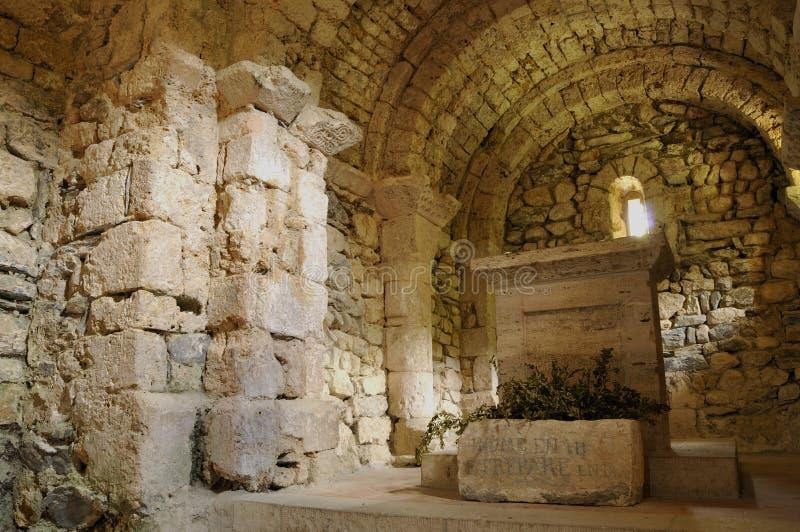 Alte Kapelle von Arnave lizenzfreies stockbild
