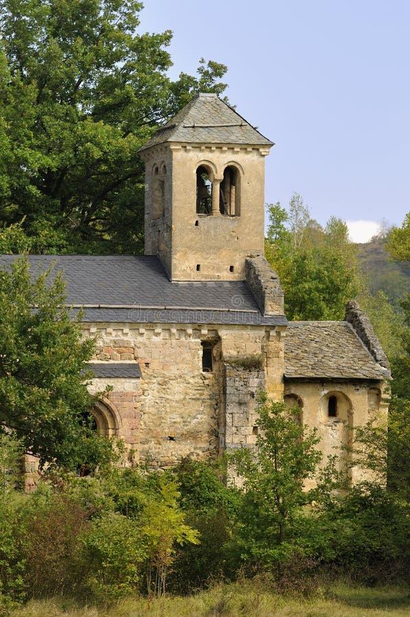 Alte Kapelle von Arnave stockbild