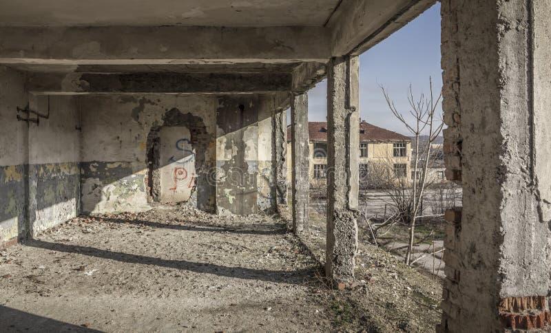 Alte Kasernen stockbild