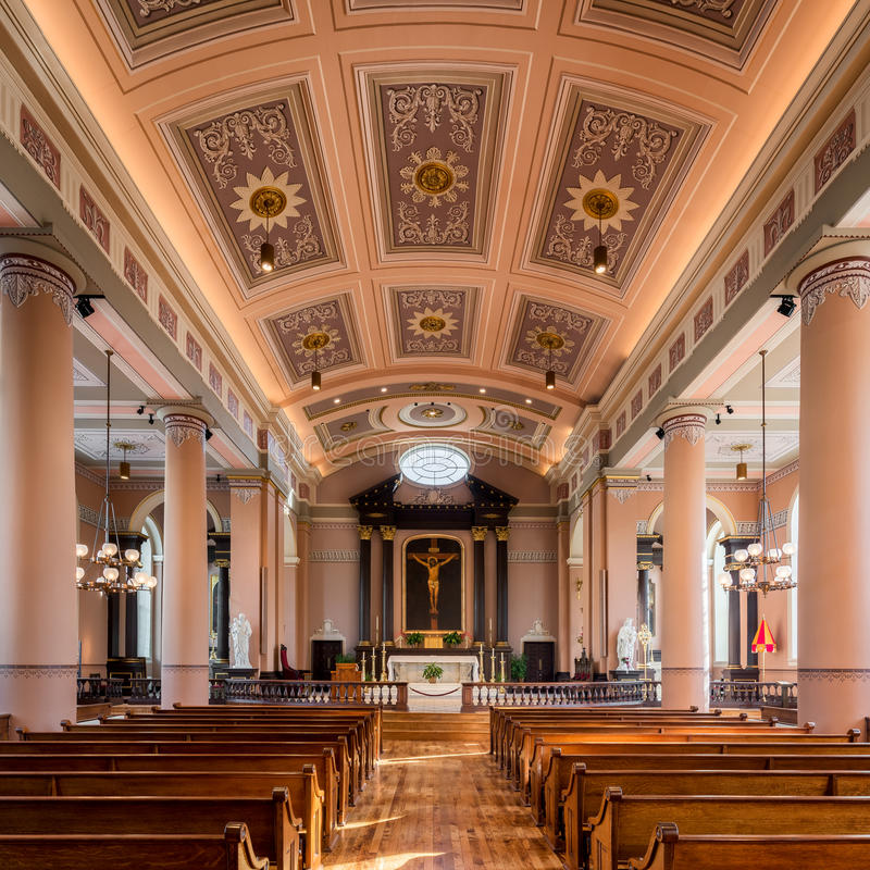 Alte Kathedrale von St. Louis stockfotografie