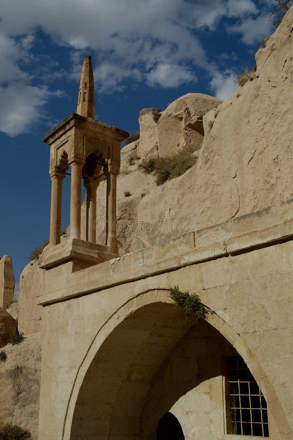 Download Alte Kirche bei Cappadocia stockbild. Bild von geschnitzt - 38689