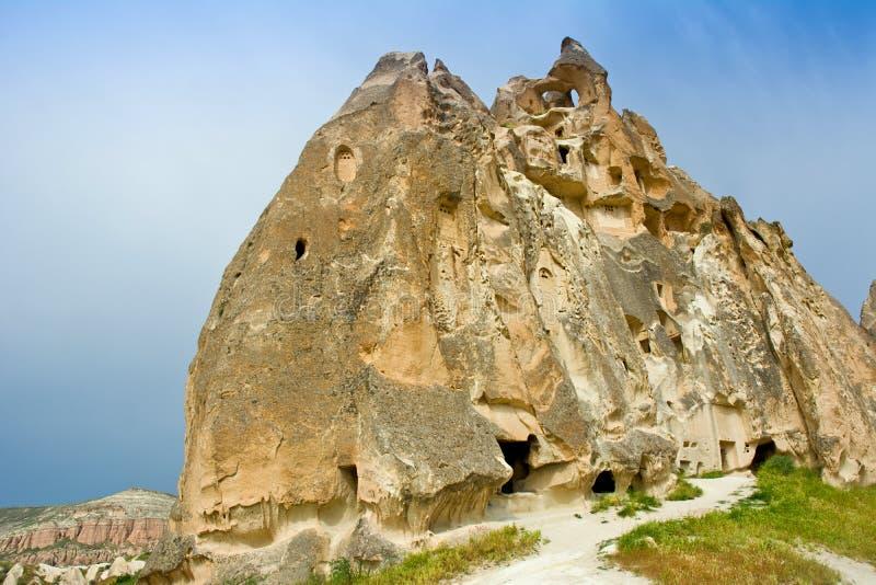 Alte Kirche in Cappadocia, zentrales Anatolien in der Türkei stockfotografie