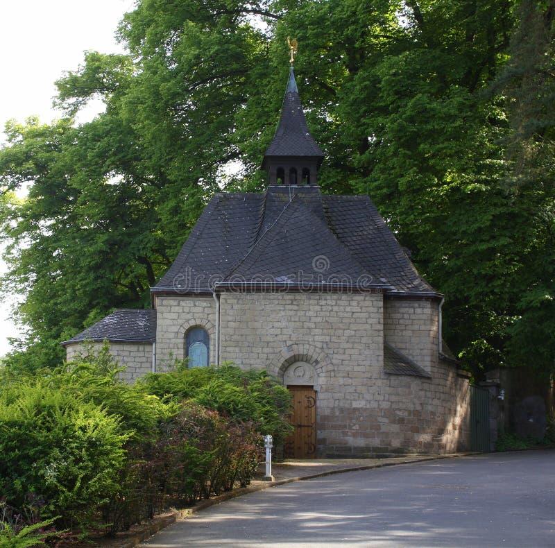 Alte Kirche deutschland stockbild