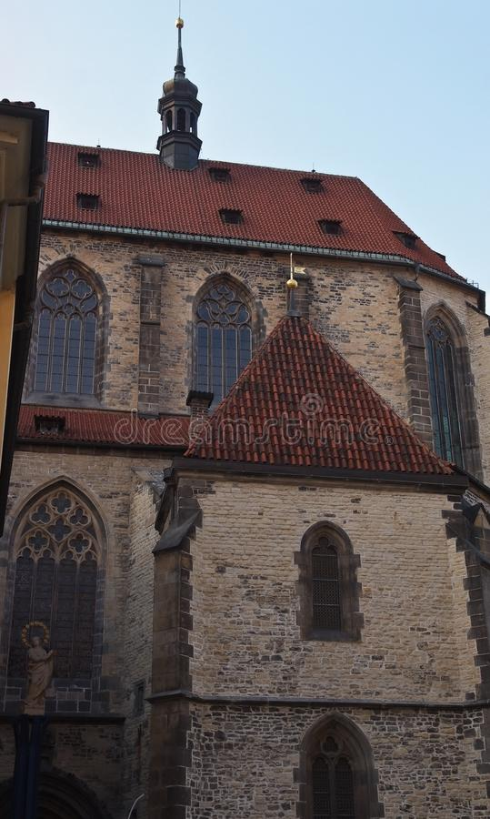 Alte Kirche Prag, Tschechische Republik stockfoto