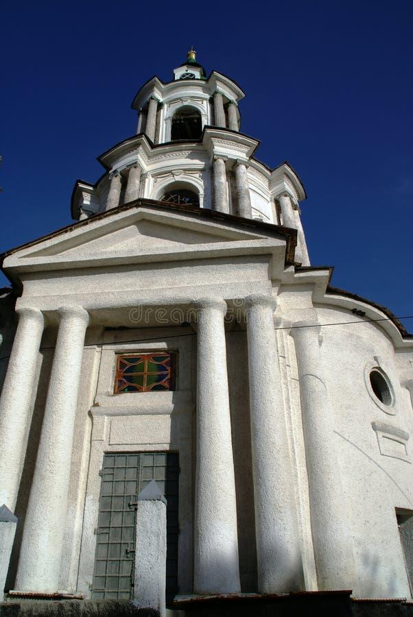 Alte Kirche. Ukraine stockfotos