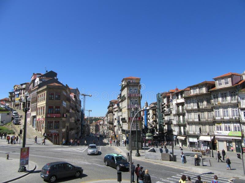 Alte kleine Straßen der Stadt stockfotos