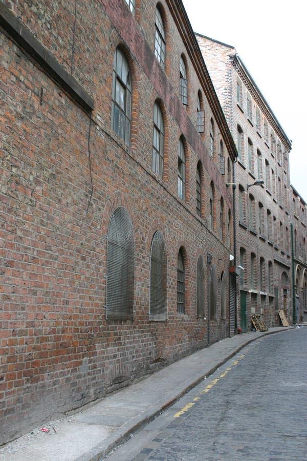 Alte Lager in Liverpool stockfotografie