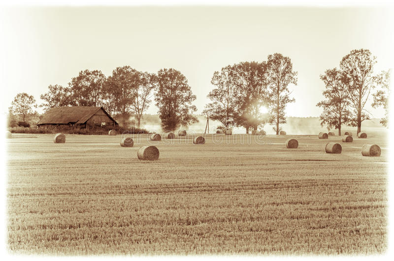 Alte Landschaft lizenzfreie stockfotografie