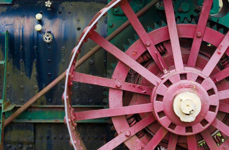 Alte landwirtschaftliche Maschinen stockfoto
