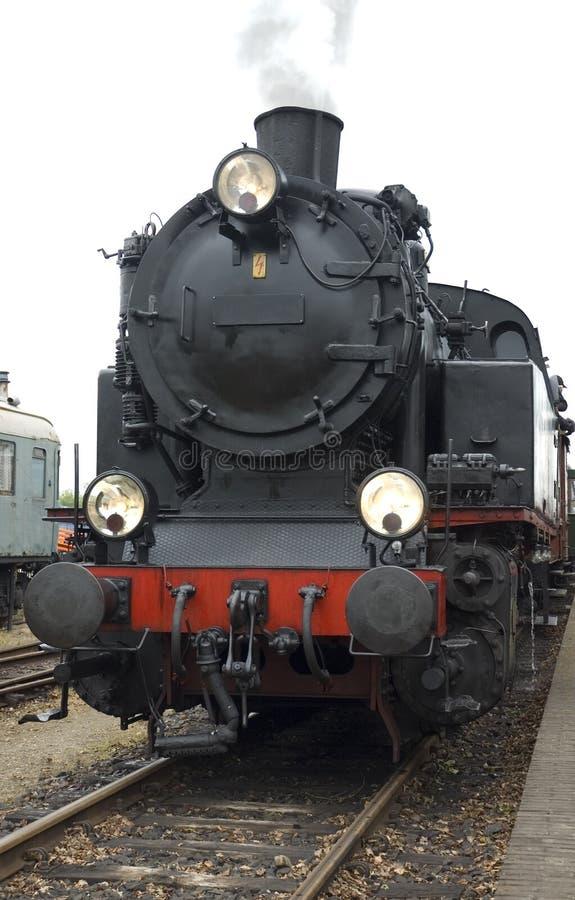 Alte Lokomotive stockbild