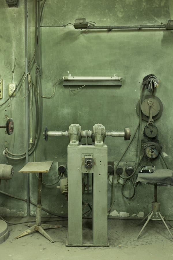 Alte Manufaktur stockbild