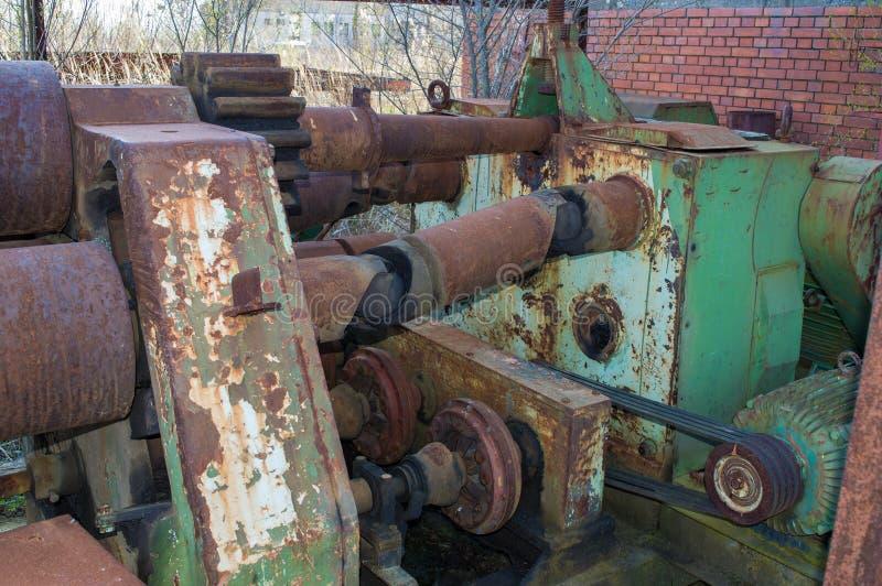 Alte Maschine stockfotografie