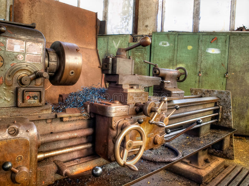 Alte Maschinerie lizenzfreies stockfoto