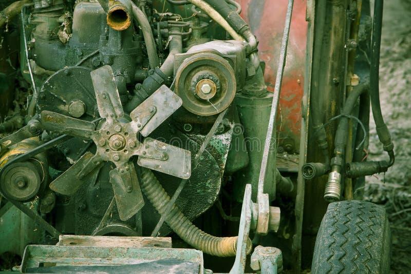 Alte Maschinerie stockfotos
