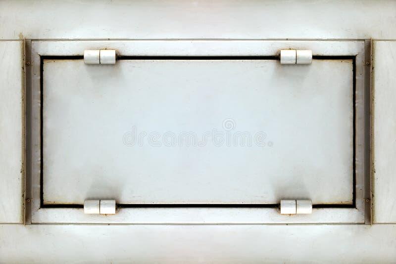 Alte Metallwandbeschaffenheit stockbilder