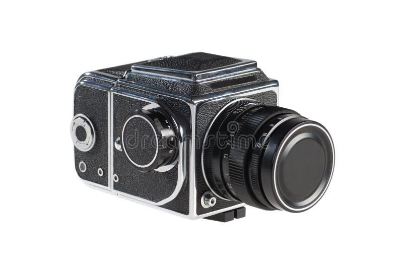 Alte mittlere Format-Kamera lizenzfreie stockfotos