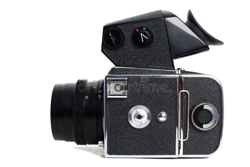 Alte mittlere Formatkamera stockfotografie
