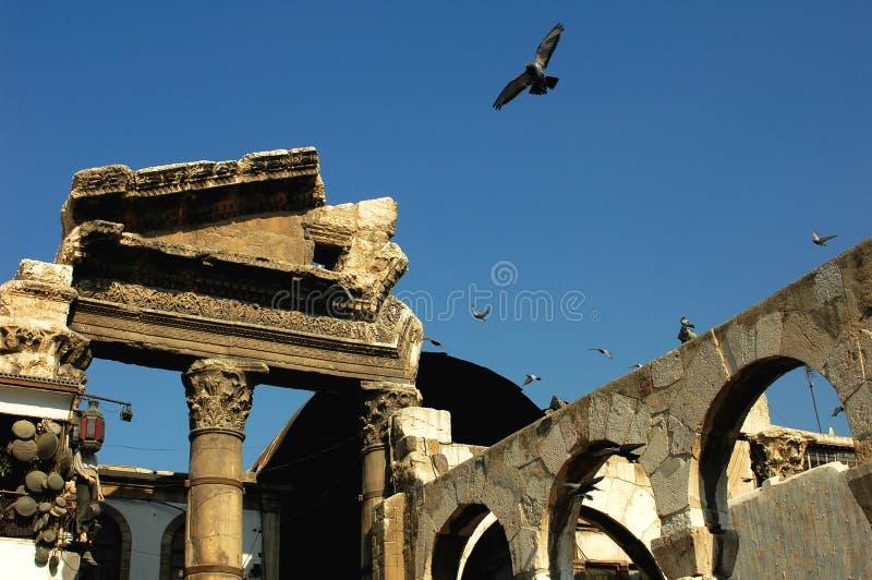 Alte Moschee in Syrien stockfotos