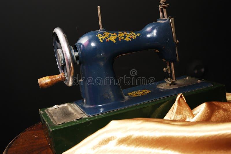 Alte Nähmaschine stockbild