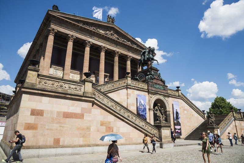 Alte Nationalgalerie в Берлине, Германии стоковая фотография