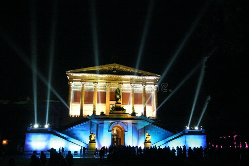 Download Alte Nationalgalerie stock image. Image of colorful, landmark - 516831