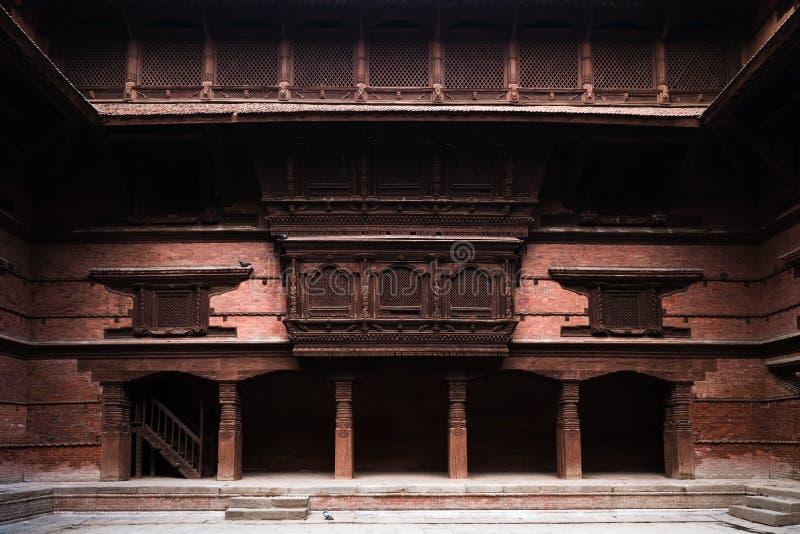 Alte nepalesische Architektur lizenzfreie stockfotografie