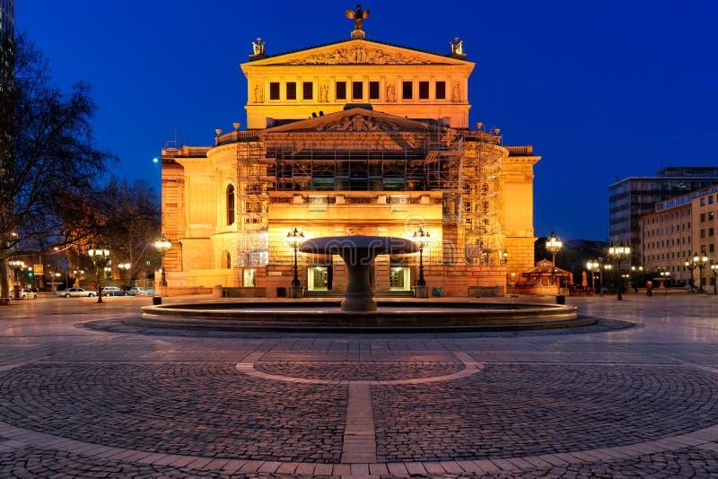 Alte Oper, Φρανκφούρτη στοκ φωτογραφία