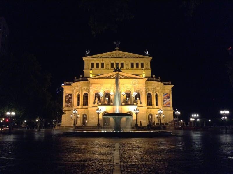 Alte Oper royalty-vrije stock foto
