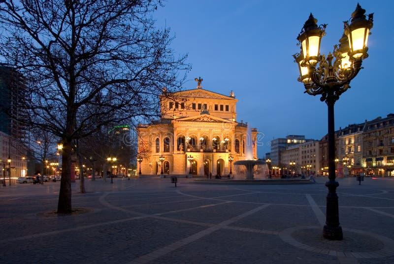 Alte Oper stock afbeeldingen