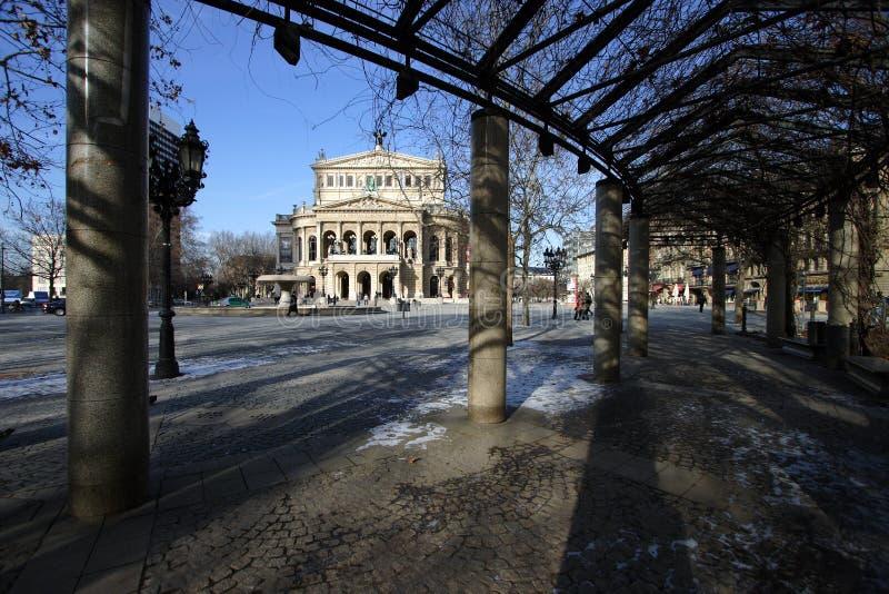 Alte Oper, Frankfurt royalty-vrije stock afbeeldingen